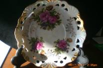 China plate after adhesive repair